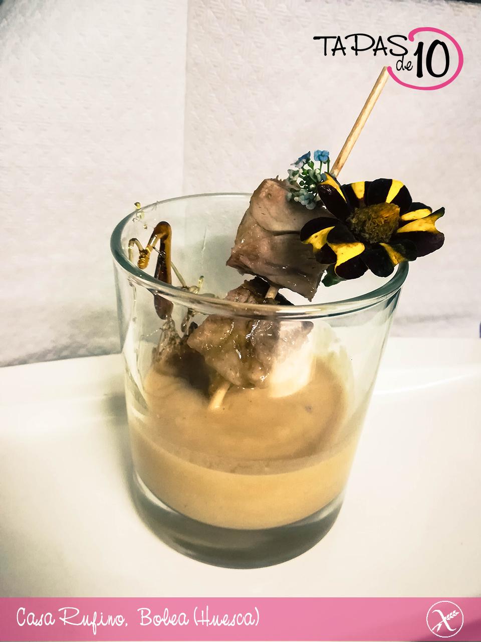 El caf bar el punto ganador del concurso tapas de 10 de la hoya de huesca tapas de 10 - Casa rufino bolea ...