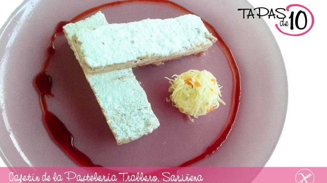 """Mejor tapa de Monegros para Cafetín de la Pastelería Trallero con su """"Ruso al foie con reducción de pedro ximénez"""""""