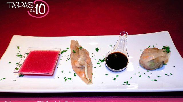 El Restaurante el Candil ganador del Concurso Tapas de 10 de la Ribagorza