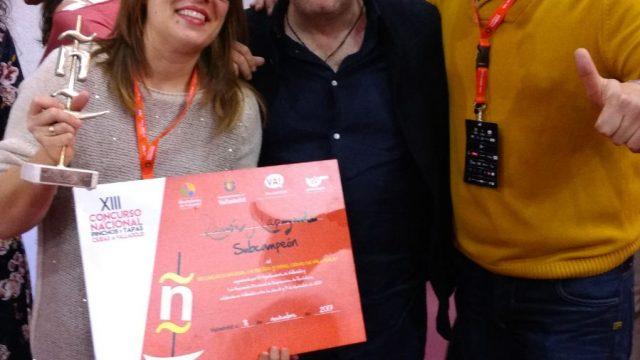 Ramón Lapuyade, subcampeón en el Concurso Nacional de Pinchos y Tapas de Valladolid