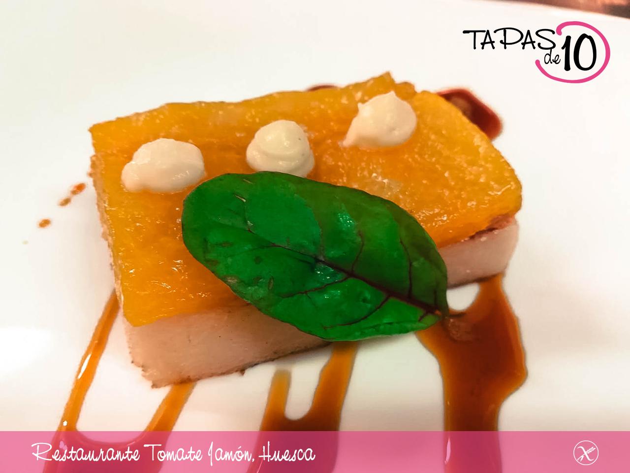 restaurante tomate y jamon huesca