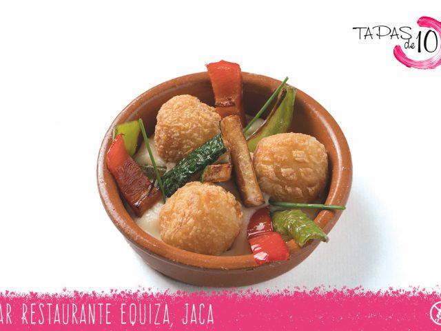 """Cazoleta """"Vigilia"""" del Bar Restaurante Equiza"""