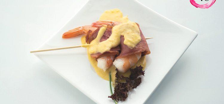 Tapa «Gamba Tropical» de Cafetería Astún