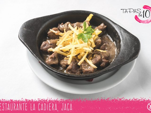"Cazoleta ""Estofau Mahori"" del Restaurante La Cadiera"