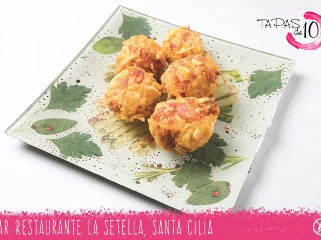 """Tapa """"Nidito La Setella"""" del Bar Restaurante La Setella"""