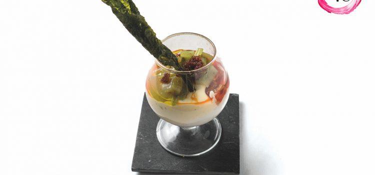 Cazoleta «Una de borrajas más» del Restaurante Lilium