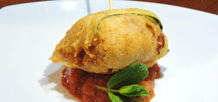 Restaurante Asador A Chaminera > Falso ravioli a la gabardina
