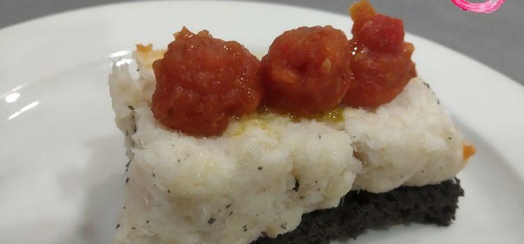 Hotel Sariñena > Bacalao chipi-chilindrón