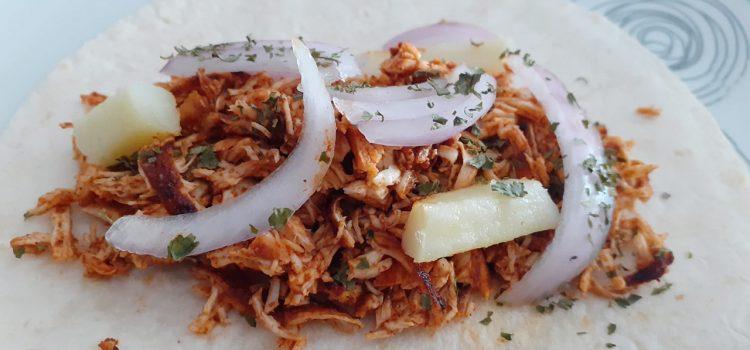 Cafetín de la Pastelería Trallero > Taco de carne con sus especias